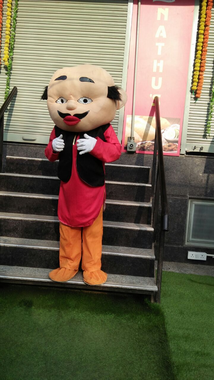 cartoon character for birthday party
