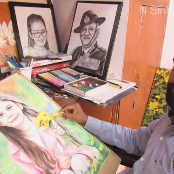 sketch artist for birthday party
